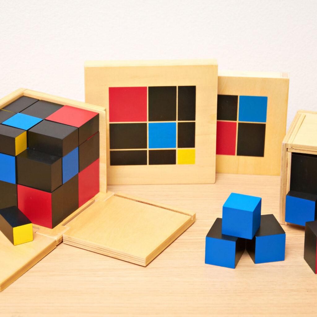 Montessori blocks