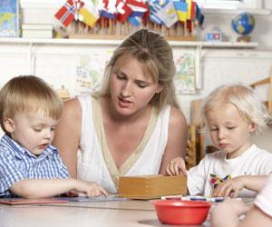 Montessori Education teacher